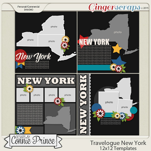 Travelogue New York - 12x12 Temps (CU Ok)