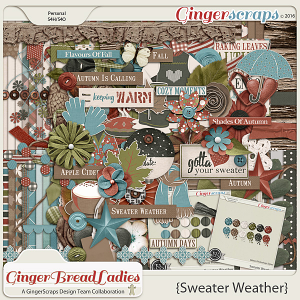GingerBread Ladies Collab: Sweater Weather