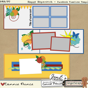 Happy Hopscotch - Facebook Timeline Cover Templates