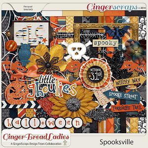 GingerBread Ladies Collab: Spooksville