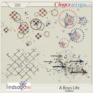 A Boys Life Scatterz by Lindsay Jane