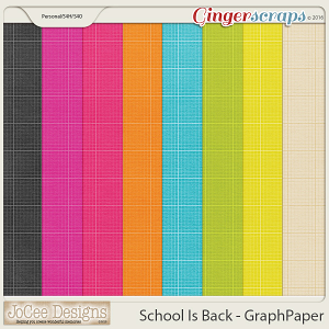 School Is Back Graph Papers