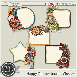 Happy Camper Journal Clusters