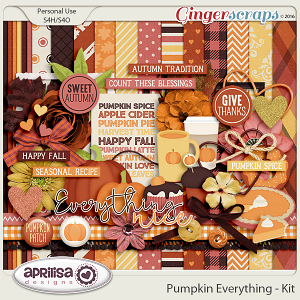 Pumpkin Everything - Kit by Aprilisa Designs