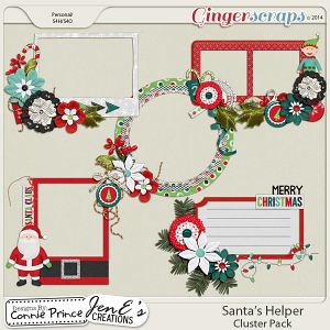 Santa's Helper - Cluster Pack