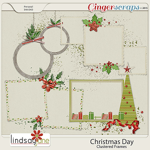 Christmas Day Frames by Lindsay Jane
