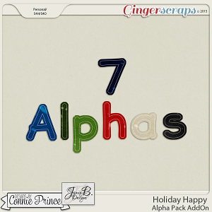 Holiday Happy - Alpha Pack AddOn