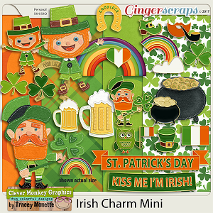 Irish Charm by Clever Monkey Graphics