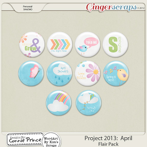 Project 2013: April - Flair Pack