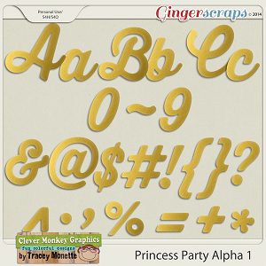 Magical Princess Party Alpha 1 by Clever Monkey Graphics