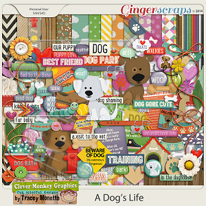 A Dog's Life by Clever Monkey Graphics