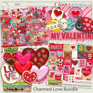Charmed Love Bundle by Clever Monkey Graphics