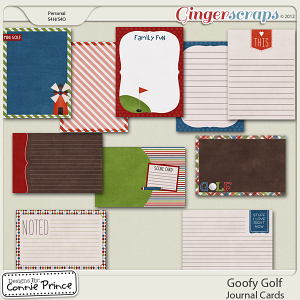 Retiring Soon - Goofy Golf - Journal Cards