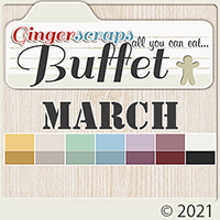 March 2021 Buffet