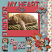 Sample Layout (Furever My Heart frame not included.)