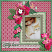 Rosy Posy Layout by Pia