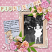 Bygone Baby digital scrapbook layout by Pia