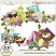 Summer Vacation Clusters by ADB Designs