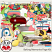 Baking Memories Page Kit Elements by ADB Designs