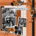 Layout using Paint Chips: Rich Rust by Connie Prince