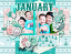 2021 quickpage calendars - January by HeartMade Scrapbook