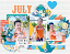 2021 quickpage calendars - July by HeartMade Scrapbook