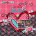 Layout by Dana - Sweet Valentine Petite Kit by ADB Designs