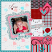 Layout by Lana - Sweet Valentine Petite Kit by ADB Designs