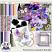 Provence Lavender Digital Scrapbook Collection