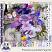 Provence Lavender Digital Scrapbook Page Kit