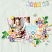 Layout using Bunny trail by HeartMade Scrapbook