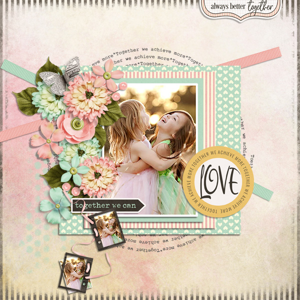 Layout art created by ShawnaRenee31