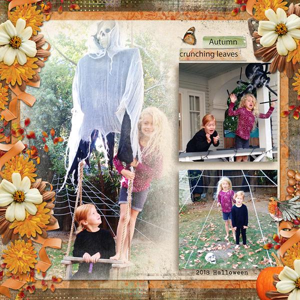 Playful Autumn Detail Chrissy