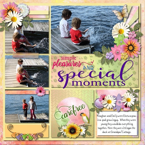 This is Me August Layout by Laureen