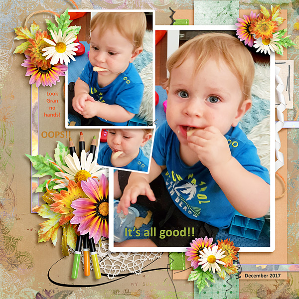 This is Me August Layout by Jenni