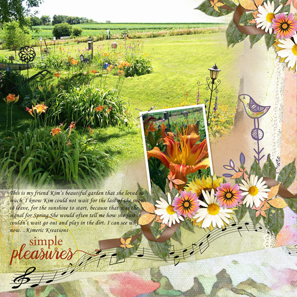 This is Me August Layout by Chrissy