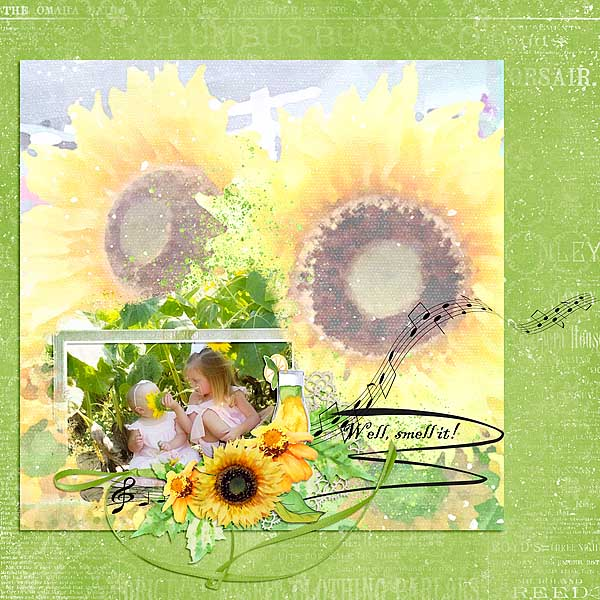 This is Me August Layout by Linda