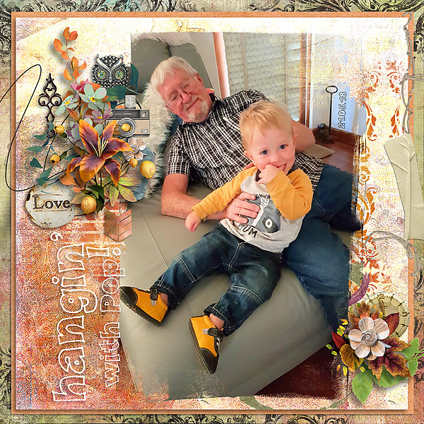 This is Me November Layout by CTM Jenni