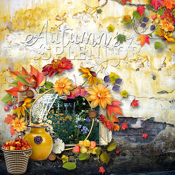 This is Me October Layout by CTM Jenni