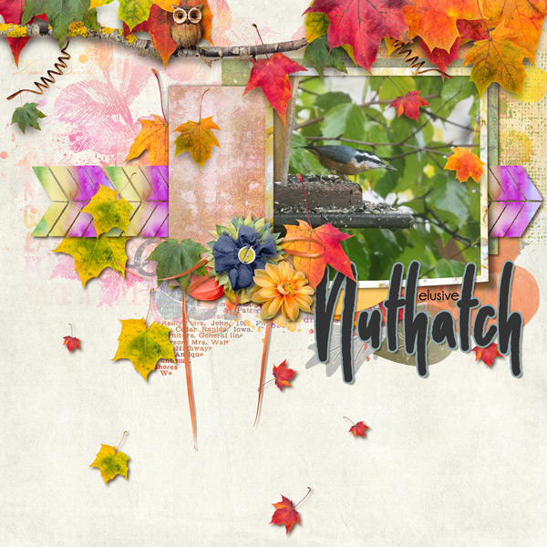 This is Me October Layout by CTM Renee