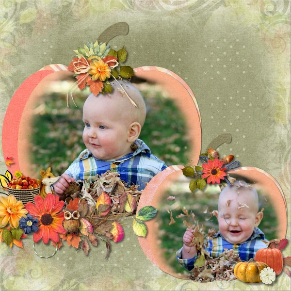 This is Me October Layout by CTM Rochelle