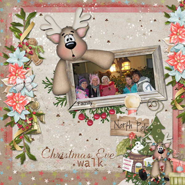 This is Me December Layout (Snickerdoodle Designs)