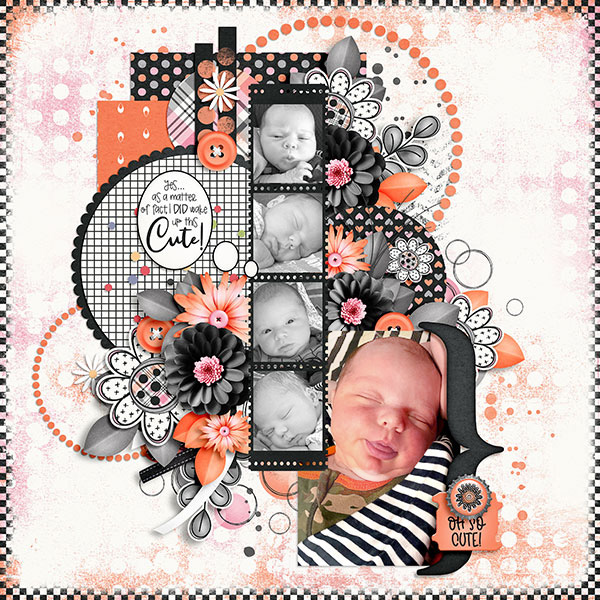 Layout art created by Beth