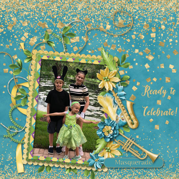 Layout by Donna