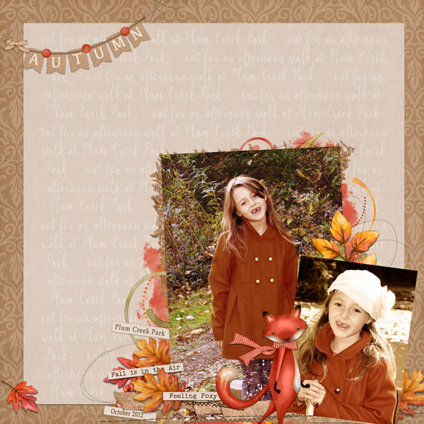 Layout by  Liz