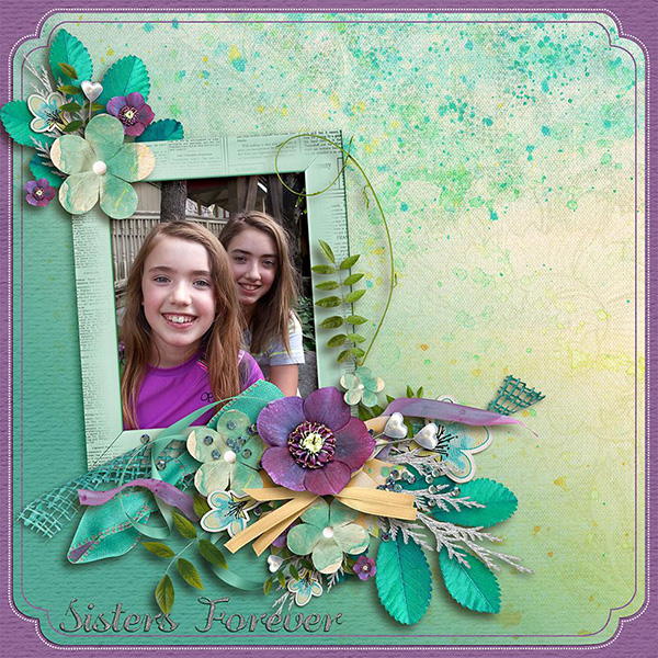 Color Outside the Lines Layout by Pam