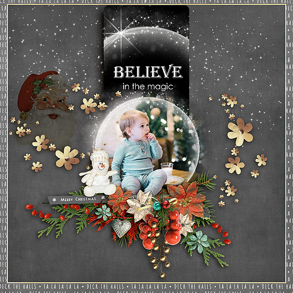 Christmas Memories by Snickerdoodle Designs: Layout by glori