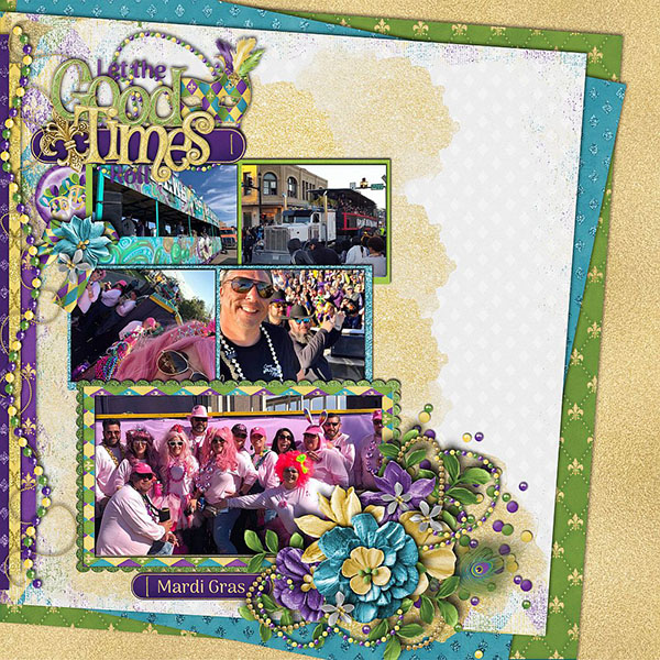 Layout by Sherri