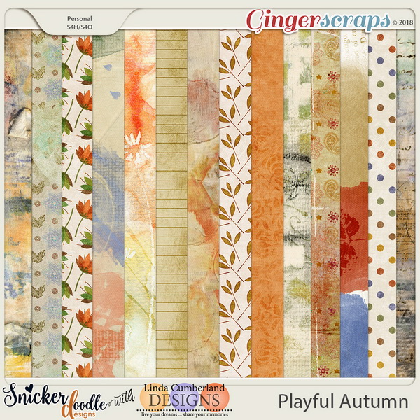 Playful Autumn Papers