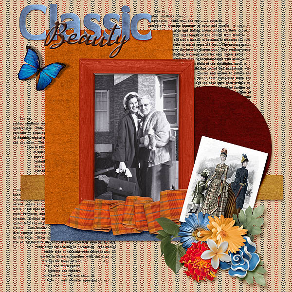Layout by Shaunna - Men in Top Hats Collection by ADB Designs